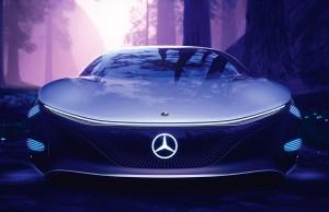 Mit dem VISION AVTR demonstriert Mercedes-Benz eine nachhaltige Vision emissionsfreier Mobilität – auch in Sachen Antriebstechnik.   With the VISION AVTR, Mercedes-Benz is demonstrating a sustainable vision of zero-emission mobility – also in terms of drive technology.